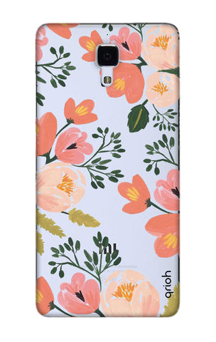 Painted Flora Xiaomi Mi 4 Cases & Covers Online