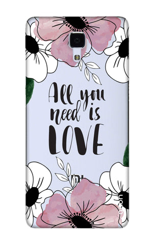 All You Need is Love Xiaomi Mi 4 Cases & Covers Online