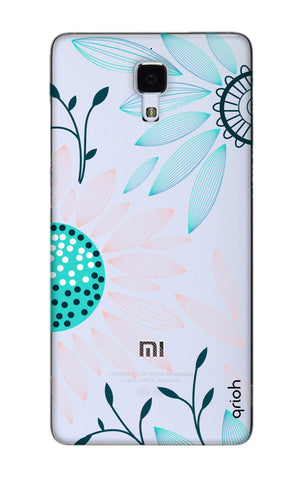 Pink And Blue Petals Xiaomi Mi 4 Cases & Covers Online