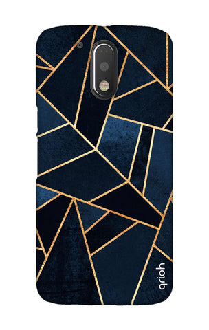 Abstract Navy Motorala Moto G4 Play Cases & Covers Online