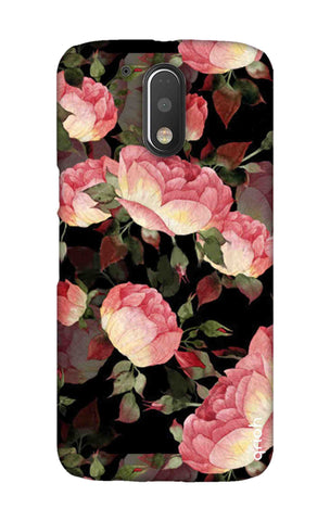 Watercolor Roses Motorala Moto G4 Play Cases & Covers Online