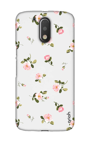 Pink Rose All Over Motorala Moto G4 Play Cases & Covers Online