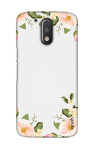 Flower In Corner Motorala Moto G4 Play Cases & Covers Online