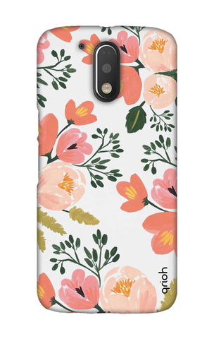 Painted Flora Motorala Moto G4 Play Cases & Covers Online