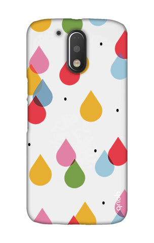 Colourful Drops Motorala Moto G4 Play Cases & Covers Online