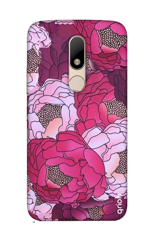 Vector Floral Motorala Moto M Cases & Covers Online