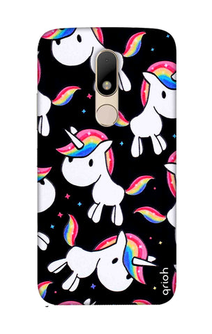 Colourful Unicorn Motorala Moto M Cases & Covers Online