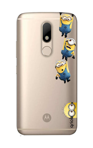 Falling Minions Motorala Moto M Cases & Covers Online