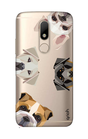 Geometric Dogs Motorala Moto M Cases & Covers Online