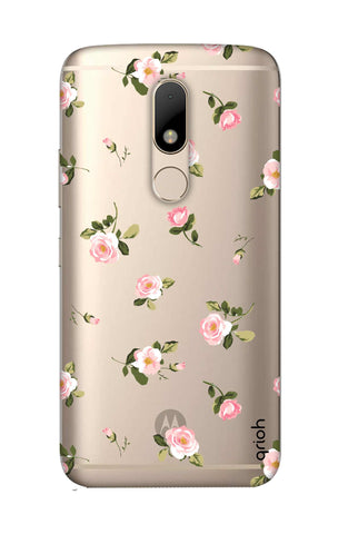 Pink Rose All Over Motorala Moto M Cases & Covers Online