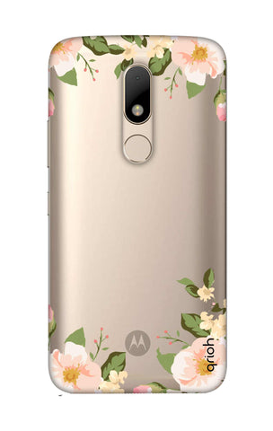 Flower In Corner Motorala Moto M Cases & Covers Online