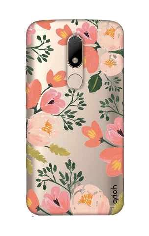 Painted Flora Motorala Moto M Cases & Covers Online