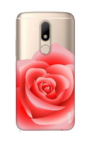 Peach Rose Motorala Moto M Cases & Covers Online