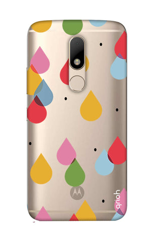 Colourful Drops Motorala Moto M Cases & Covers Online