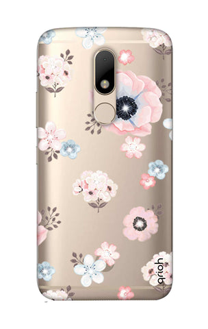 Beautiful White Floral Motorala Moto M Cases & Covers Online