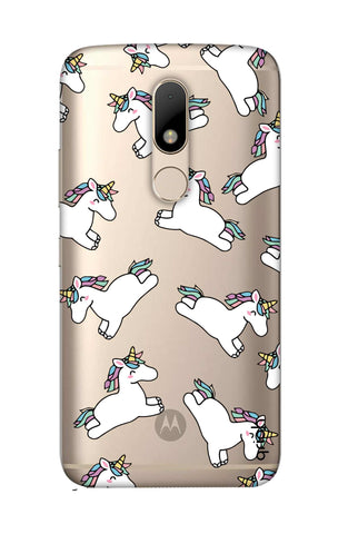 Jumping Unicorns Motorala Moto M Cases & Covers Online