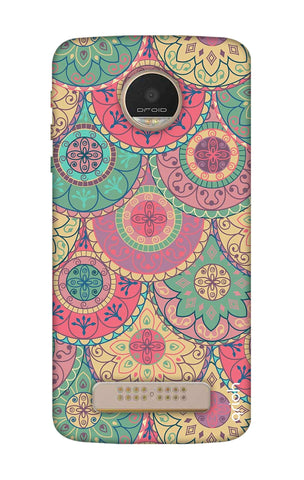 Colorful Mandala Motorala Moto Z Play Cases & Covers Online