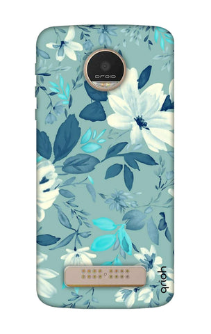 White Lillies Motorala Moto Z Play Cases & Covers Online