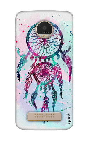 Dreamcatcher Feather Motorala Moto Z Play Cases & Covers Online