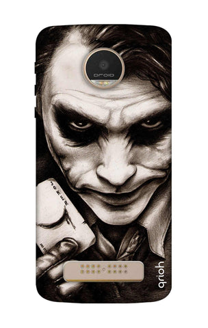 Why So Serious Motorala Moto Z Play Cases & Covers Online