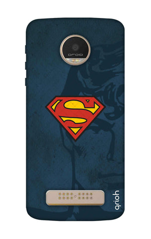 Wild Blue Superman Motorala Moto Z Play Cases & Covers Online