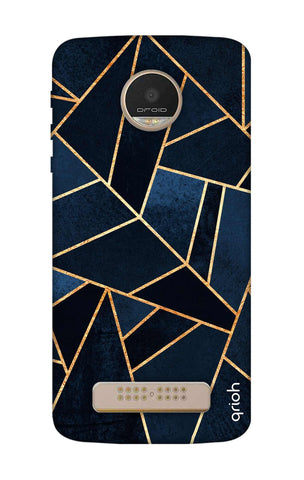 Abstract Navy Motorala Moto Z Play Cases & Covers Online