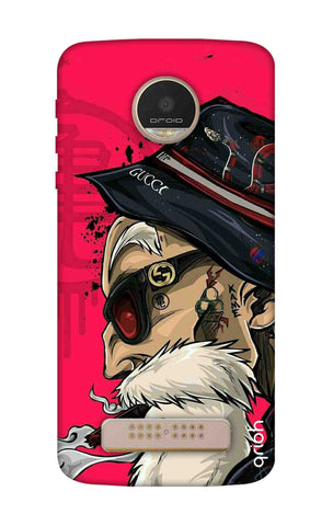 Hipster Oldman Motorala Moto Z Play Cases & Covers Online