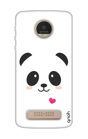 Panda Heart Motorala Moto Z Play Cases & Covers Online