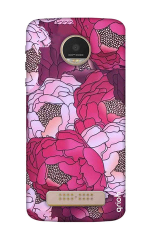Vector Floral Motorala Moto Z Play Cases & Covers Online