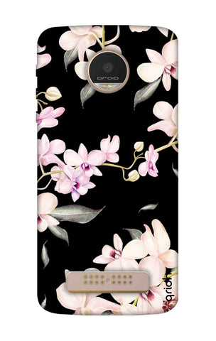 Seamless Flowers Motorala Moto Z Play Cases & Covers Online