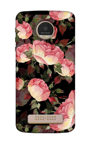 Watercolor Roses Motorala Moto Z Play Cases & Covers Online