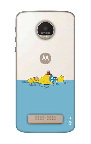 Simpson Chill Motorala Moto Z Play Cases & Covers Online
