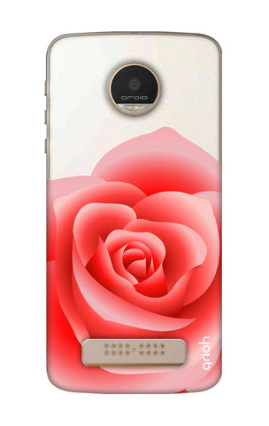 Peach Rose Motorala Moto Z Play Cases & Covers Online