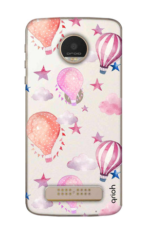 Flying Balloons Motorala Moto Z Play Cases & Covers Online