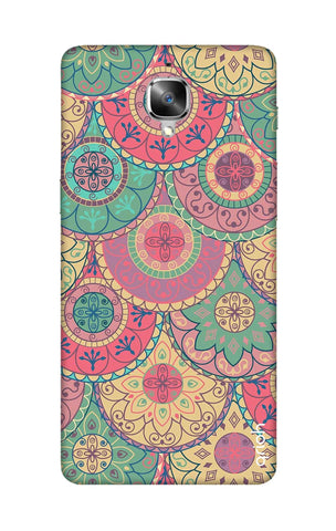 Colorful Mandala OnePlus 3T Cases & Covers Online