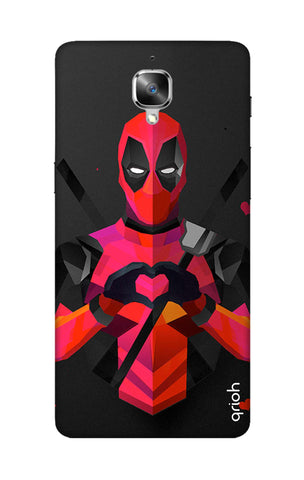 Valentine Deadpool OnePlus 3T Cases & Covers Online