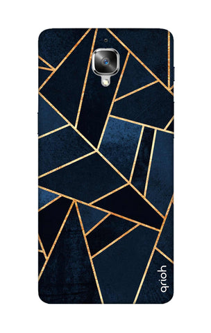 Abstract Navy OnePlus 3T Cases & Covers Online
