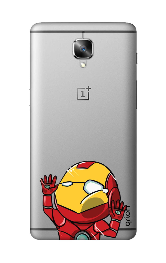 promo code f45a5 156a6 Iron Man Wall Bump Case for OnePlus 3T