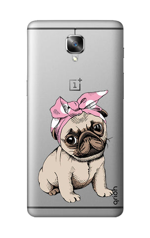 Pink Puggy OnePlus 3T Cases & Covers Online