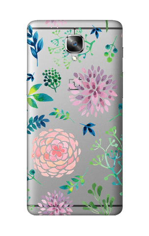 Lillies, Orchids And Leaves OnePlus 3T Cases & Covers Online
