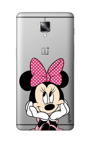 Minnie In Deep Thinking OnePlus 3T Cases & Covers Online