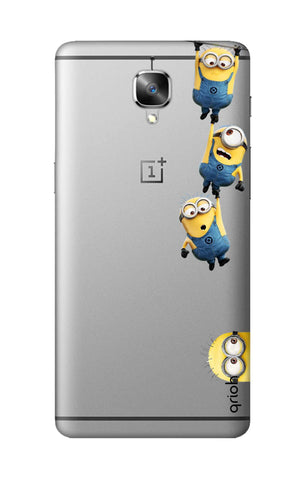 Falling Minions OnePlus 3T Cases & Covers Online
