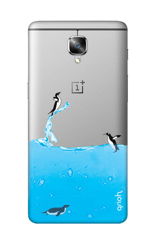 Penguins In Water OnePlus 3T Cases & Covers Online
