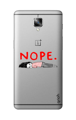 Nope OnePlus 3T Cases & Covers Online