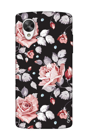 Shabby Chic Floral Nexus 5 Cases & Covers Online