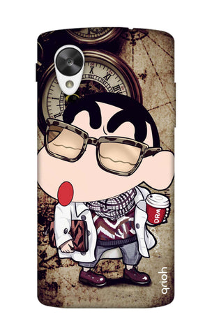 Nerdy Shinchan Nexus 5 Cases & Covers Online