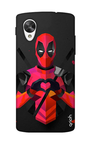 Valentine Deadpool Nexus 5 Cases & Covers Online