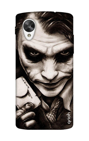 Why So Serious Nexus 5 Cases & Covers Online