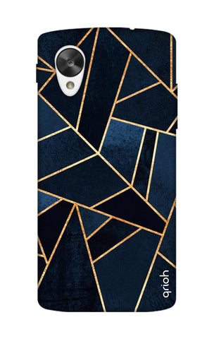 Abstract Navy Nexus 5 Cases & Covers Online