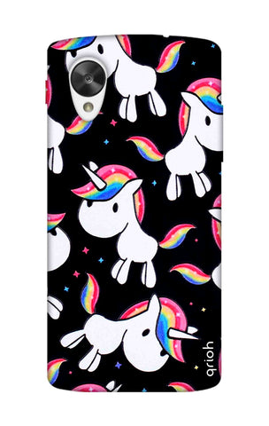 Colourful Unicorn Nexus 5 Cases & Covers Online
